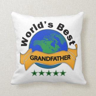 World's Best Grandfather Pillows