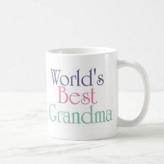 Worlds Best Grandma 2 Classic White Coffee Mug