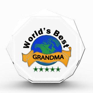 World's Best Grandma Acrylic Award
