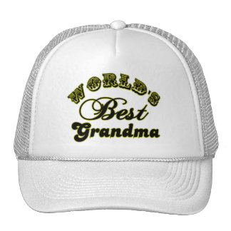 World's Best Grandma Baseball Hat