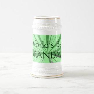 Worlds Best Grandma Beer Stein
