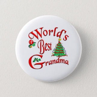 World's Best Grandma Button