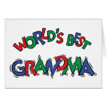 World's Best Grandma Card