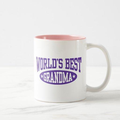 World's Best Grandma Coffee Mugs