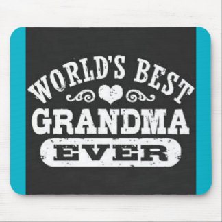 world's best grandma ever mousepad mouse pad