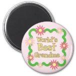 World's Best Grandma Fridge Magnets