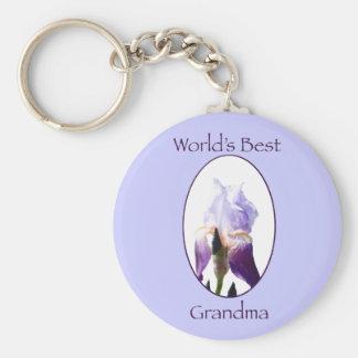 World's Best Grandma Keychain
