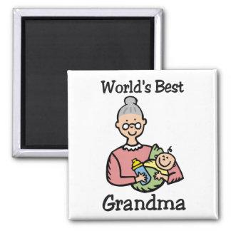 World's Best Grandma magnet