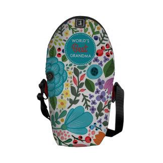 World's Best Grandma Messenger Bag