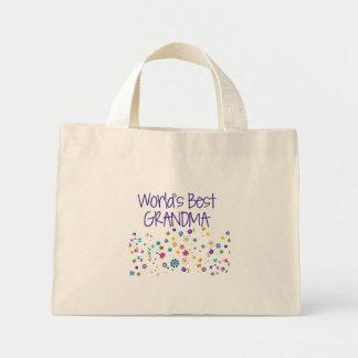 World's Best Grandma Mini Tote Bag