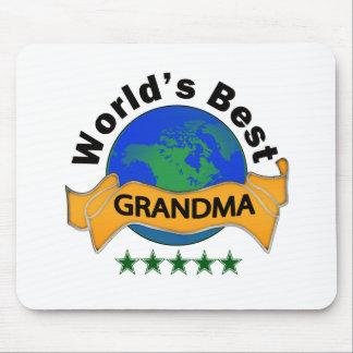 World's Best Grandma Mouse Pad
