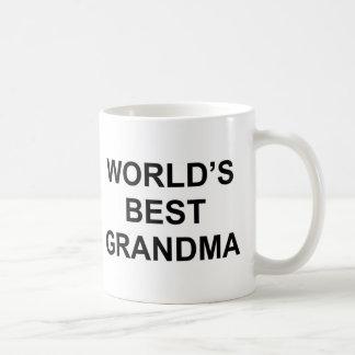 World's Best Grandma Classic White Coffee Mug