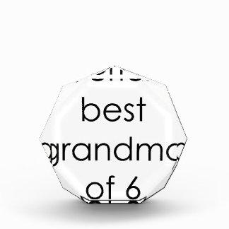 worlds best grandma of 6.png acrylic award
