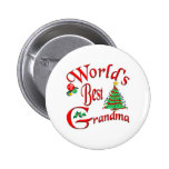 World's Best Grandma Pinback Button