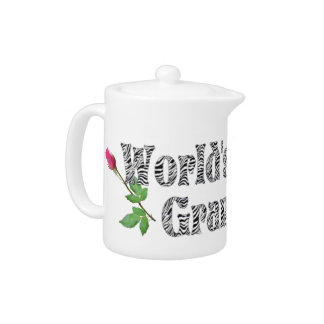 WORLD'S BEST GRANDMA-TEAPOT TEAPOT