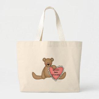 World's Best Grandma totebag Tote Bags
