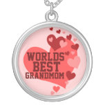 Worlds Best Grandmom (or any name) Personalized Necklace