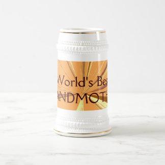 Worlds Best Grandmother Beer Stein