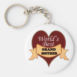 World's Best Grandmother Keychain