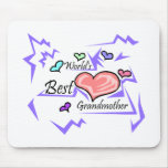 World's Best Grandmother Mouse Pads