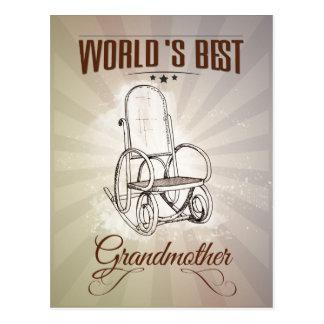 World's best grandmother postales