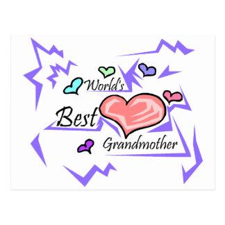 World's Best Grandmother Post Card