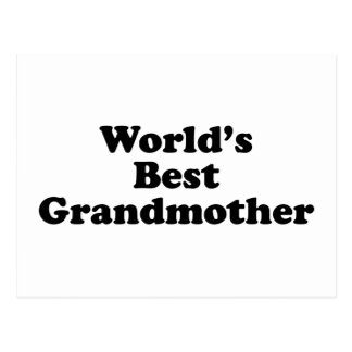 World's Best Grandmother Postcard