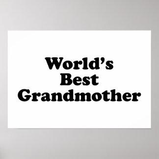 World's Best Grandmother Poster