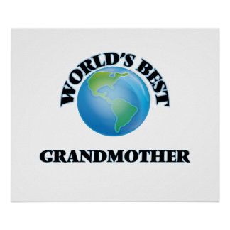 World's Best Grandmother Poster