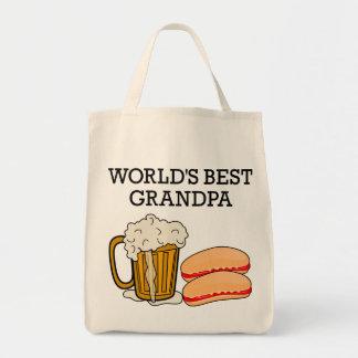 World's Best Grandpa Canvas Bag