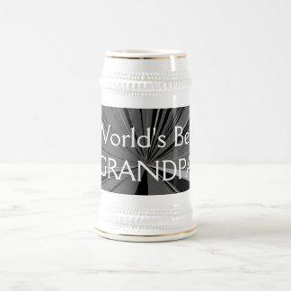 Worlds Best Grandpa Beer Stein