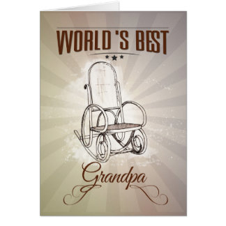 World's best grandpa card