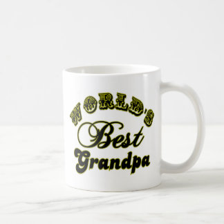 World's Best Grandpa Coffee Mug Basic White Mug