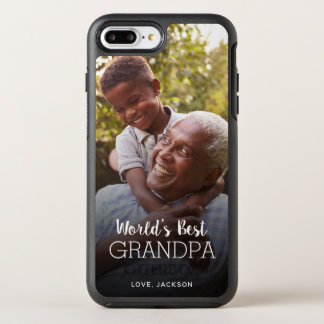 World's Best Grandpa Father's Day Custom Photo OtterBox Symmetry iPhone 8 Plus/7 Plus Case