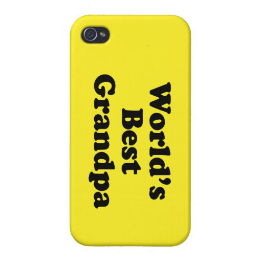 World's Best Grandpa iPhone 4 Covers