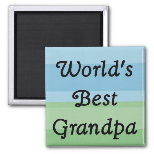 world's best Grandpa magnet