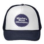 World's Best Grandpa Mesh Hats