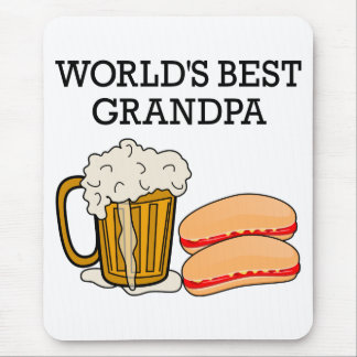 Worlds Best Grandpa Mouse Pad