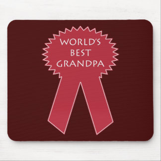 World's Best Grandpa Mouse Pad