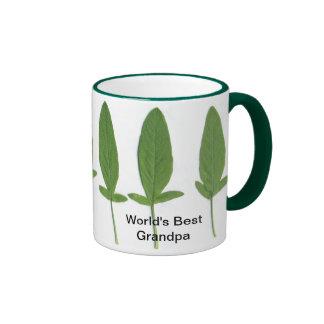 World's Best Grandpa, Sage Ringer Mug