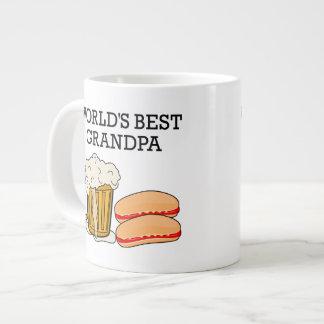 Worlds Best Grandpa Jumbo Mug
