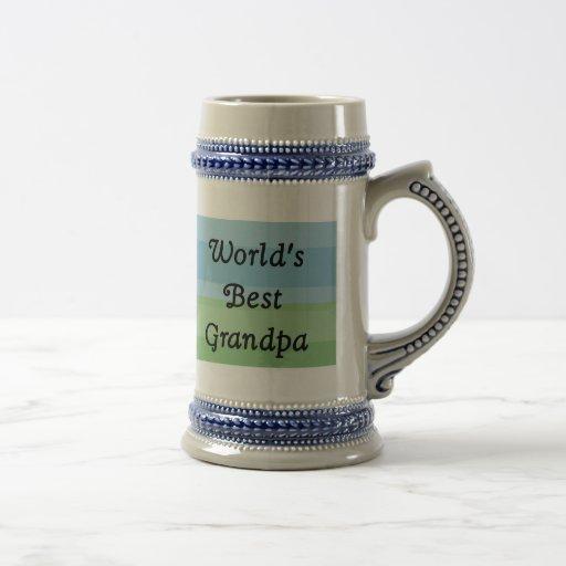 world's best Grandpa stein Mug