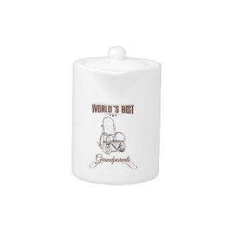 World's best grandpa teapot