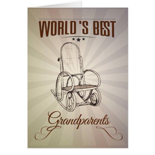 World's best grandparents felicitaciones
