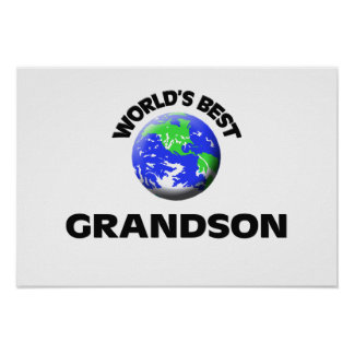 World's Best Grandson Posters