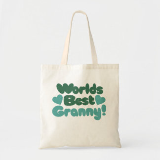 Worlds Best Granny Tote Bags
