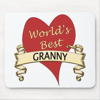 World's Best Granny Mouse Pad