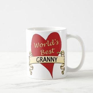 World's Best Granny Classic White Coffee Mug