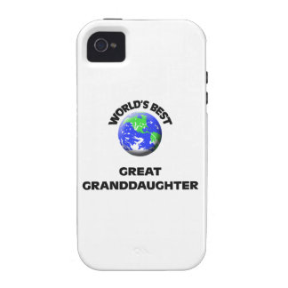 World's Best Great Granddaughter Case-Mate iPhone 4 Cases
