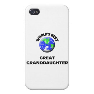 World's Best Great Granddaughter Case For iPhone 4